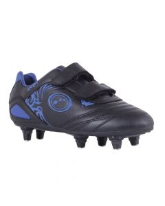 Optimum Sports Razor Velcro 6 Stud Synthetic Rugby Football Boots - Junior