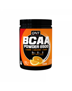 QNT BCAA 8500 Enhanced Energy & Recovery Amino Acid Powder - Orange
