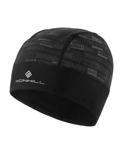 Ronhill Afterlight Beanie Outdoor Thermal Running Reflective Clothing - Black