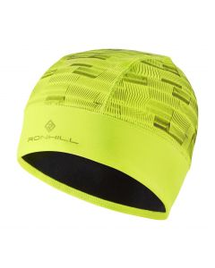 Ronhill Afterlight Beanie Outdoor Thermal Running Reflective Clothing - Fluo Yellow