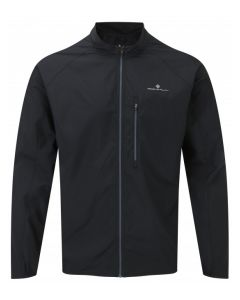 Ronhill Everyday Jacket Mens Reflective Running Apparel - All Black
