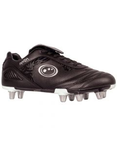 Optimum Sports Razor Light Synthetic Rugby And Football Stud Boots - Black/Silver