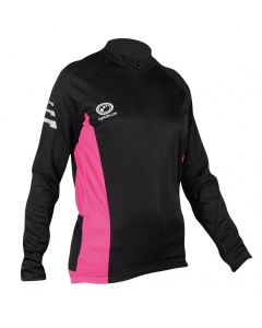 Optimum Sports Nitebrite High Visibility Womens Long Sleeve Cycling Jersey
