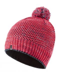Ronhill Bobble Hat Outdoor Running Thermal Insulator Soft Fleece - Hot Pink