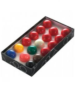 PowerGlide Classic Standard 17 Snooker Ball Set 44.5mm - Boxed