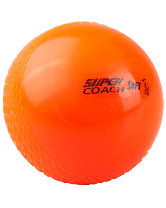 Kookaburra Cricket Super Coach Soft Beginners Training Ball x 12 Orange – Youths