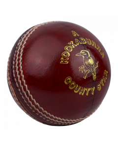 Kookaburra Cricket County Star Ball Hand Stitched 4 Piece Construction 3 Layer