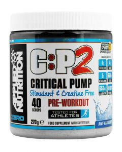 Applied Nutrition C:P2 Critical Pump Pre Workout Stimulant - Blue Raspberry