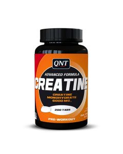 QNT Creatine Monohydrate Increased Physical Performance Pre Workout Caps x 200