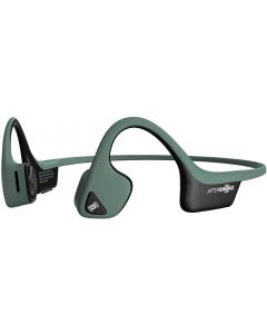 Aftershokz Trekz Air Light Wireless Bone Conduction Headphones - Forest Green