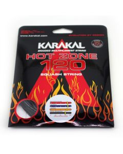 Karakal Hot Zone 120 Squash Racket Strings Durable Power Multifilament Coil 10m