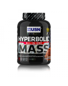 USN Hyperbolic Mass High Protein Creatine & Carbohydrates All In One Gainer 2kg
