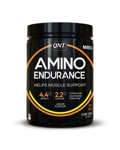 QNT Amino Endurance Amino Acids & BCAA Concentrated Formula - Lemon
