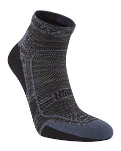 Hilly Urban Lite-Comfort Quarter Socks Lightweight Running Cushioning