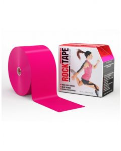 Rocktape Big Daddy Rolls Adhesive Kinesiology Tape 10cm x 32m - Hot Pink