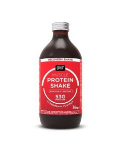 QNT Protein High Carbohydrate Post Training Recovery Shake (Strawberry) 12 X 500ml