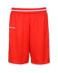Spalding Move Shorts Mens Basketball Apparel FIBA Confirmed - Red/White