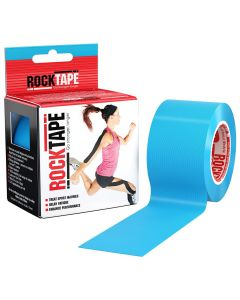 Rocktape Hypoallergenic Strong Adhesive Kinesiology Tape Roll - Electric Blue