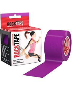 Rocktape Hypoallergenic Strong Adhesive Kinesiology Tape Roll - Purple