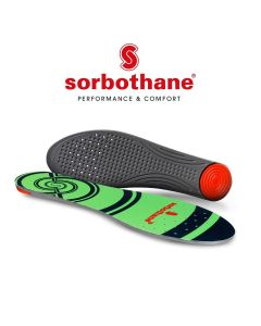 Sorbothane Single Strike Shock Heel Impact Absorbing Shoe Trainer Insole