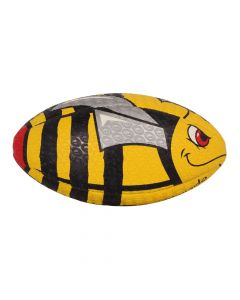 Optimum Sport Hand Stitched Rubber Balanced Weight Stinger Print Rugby Ball