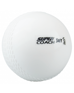Kookaburra Cricket Super Coach Soft Plastic Beginner Training Ball x 12 – Youths