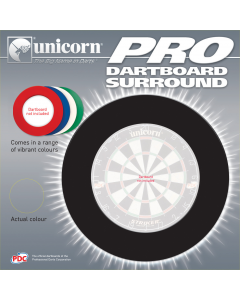 Unicorn Darts Dartboard Surround Protection Heavy Duty Full Size Board