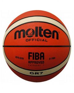 Molten BGR-OI Rubber Series Fiba Approved Training/Drill 12 Panel Basketball