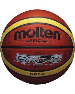 Molten BGRXD Deep Channel Original Basketball Highly Durable Rubber Compound