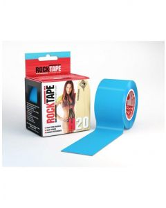 Rocktape H2O Tape Extra Sticky Adhesive Kinesiology Rolls 5M - Electric Blue