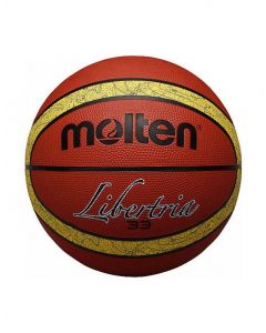 Molten B6T2000-TI 33 Liberia Rubber Durable Official 12 Panel Basketball