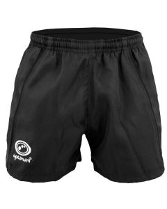 Optimum Sports Fiji Rugby Shorts High Performance & Durability Training - Black