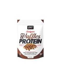 QNT Belgian Waffles High Rated Protein Low Sugar & Calories - MIlk Chocolate
