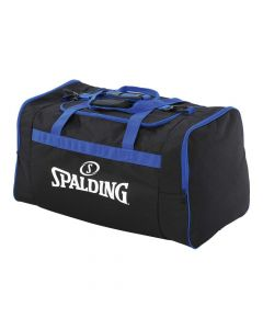 Spalding Team Bag Large Carry Kit Sportsbag Equipment Holdall - Black/Royal