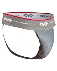 McDavid 3300 Performance Hexmesh Supporter & Flexcup Ultralite Groin Protection