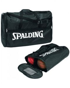Spalding Basketball 6 Ball Bag Soft Type Nylon With Zipper Compact Size