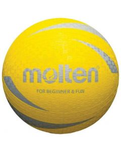Molten L2S1250 Multi Purpose Sports Training Ball Ideal For Schools Clubs Yellow