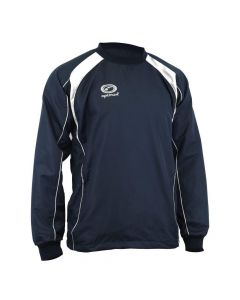 Optimum Sports Blitz Winter Windbreaker Top in Navy - Teflon Coated Nylon
