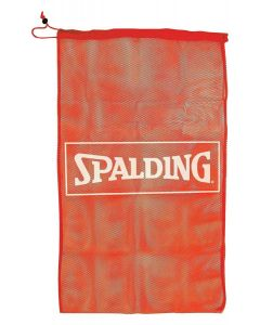 Spalding Basketball Lightweight Mesh 7 Ball Drawstring Closure Carrier Bag