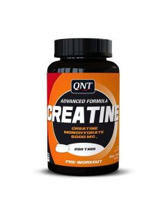 QNT Creatine Monohydrate Increased Physical Performance Pre Workout 200 Caps