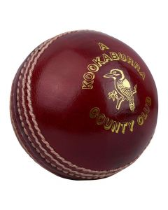 Kookaburra County Club Cricket Ball Hand Stitched with Quilted Centre