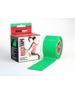 Rocktape Hypoallergenic Strong Adhesive Kinesiology Tape Roll - Green