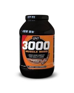 QNT Weight Gain 3000 Muscle Mass Protein Vitamins & Carbs (Chocolate) 1.3kg