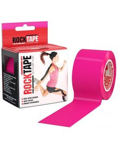 Rocktape Hypoallergenic Strong Adhesive Kinesiology Tape Roll - Hot Pink