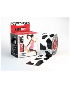 Rocktape Adhesive Sports Kinesiology Athletic Tape Pattern Roll 5cmx5m - Cow