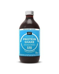 QNT Protein High Carbohydrate Post Training Recovery Shake (Vanilla) 12 X 500ml