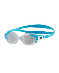 Speedo Futura Biofuse Flexiseal Female Swimming Goggles Cushioned Fit Turquoise