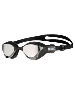 Arena Cobra Tri Mirror Triathlon Swipe Swimming Goggles Hard Lense - Silver