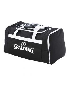 Spalding Team Bag Large Sports Equipment Holdall Training - Black/White