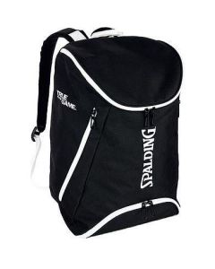 Spalding Backpack Large Basketball & Sports Equipment Rucksack Bag - Black/White